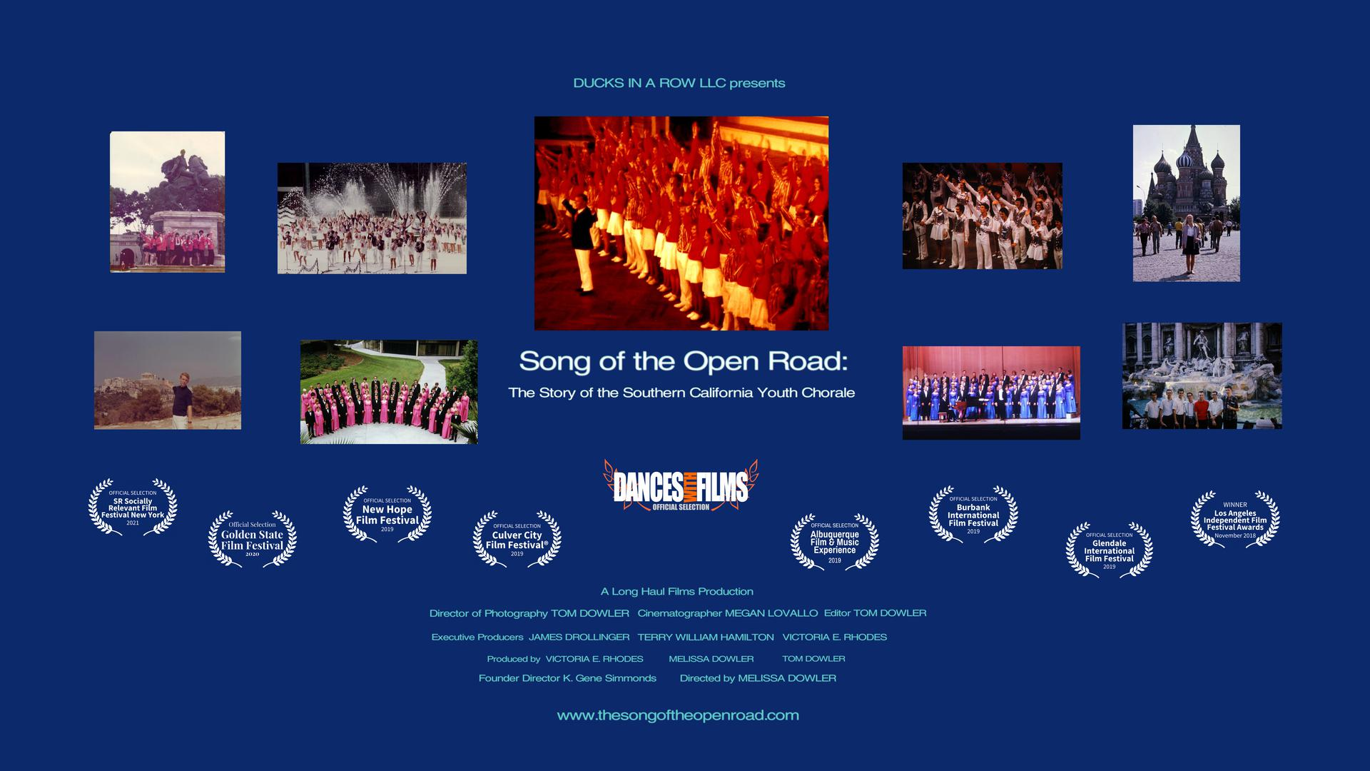 Song of the Open Road: The Southern California Youth Chorale