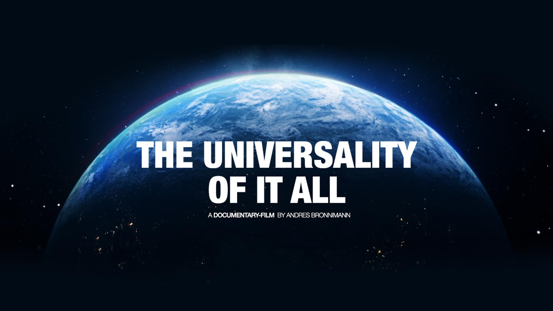 The Universality of It All