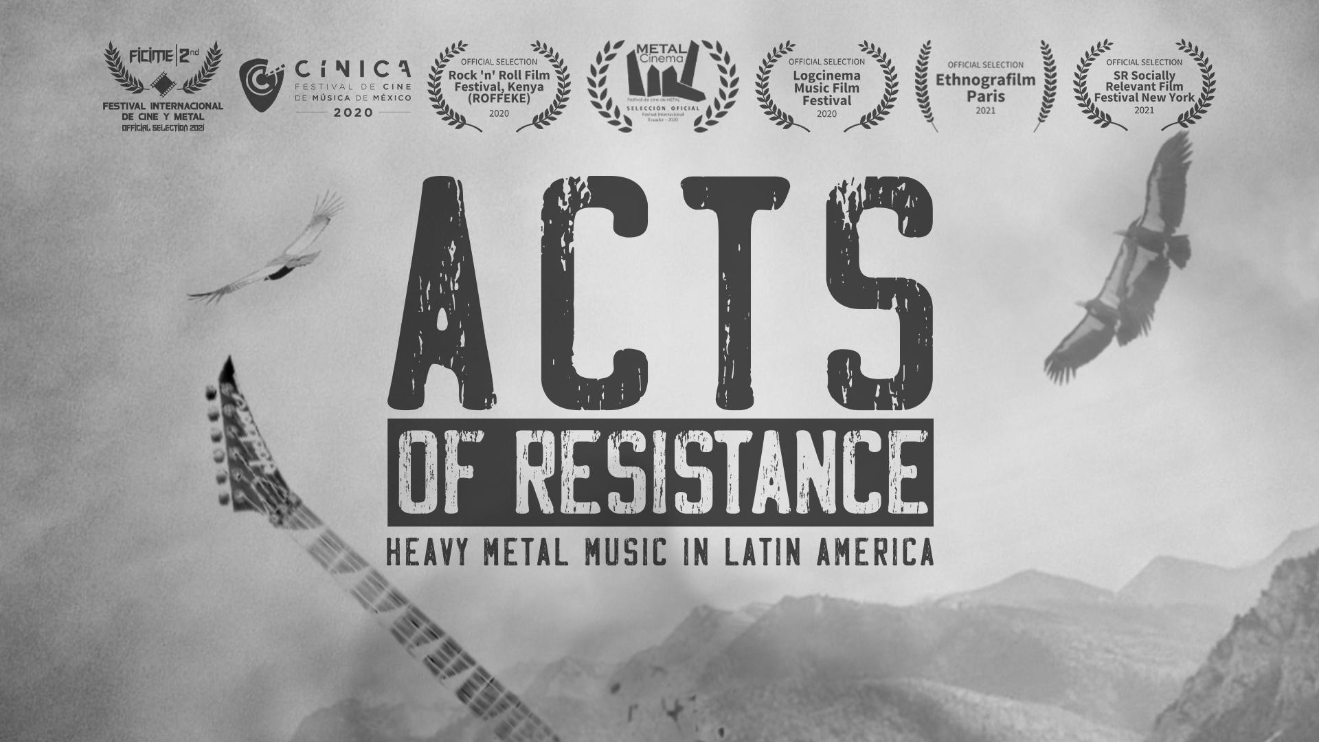 Acts of Resistance: Heavy Metal Music in Latin America